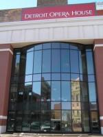 L'Opéra de Détroit où se produit le Michigan Opera Theatre
